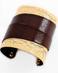 Distressed Cuff Bangle - Impulsive Fashion