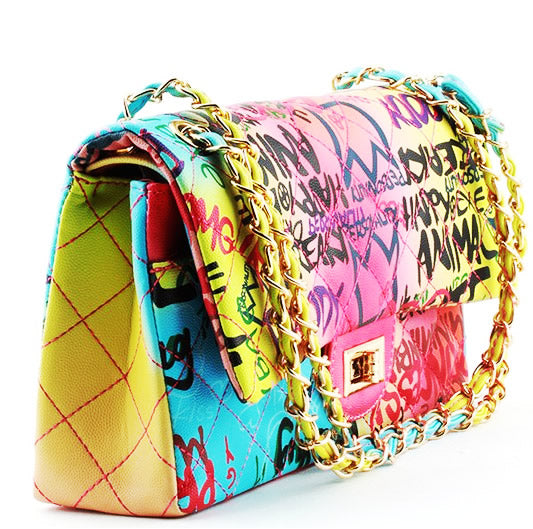 Graffiti Me Handbag