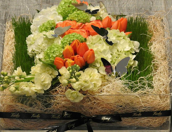 Persian Garden Flower Box - Tooka Florist