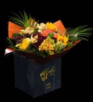 Mega Orange Water-Wrap - Tooka Florist