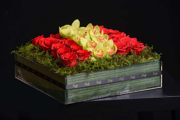 Love Flower Box - Tooka Florist