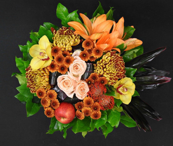 Summer in Fall Bouquet - Tooka Florist