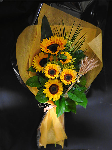 The Sunflower Bouquet - Tooka Florist