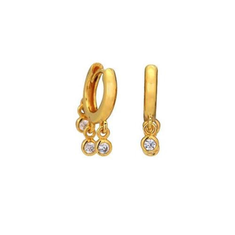 Luxe cubic zirconia earrings