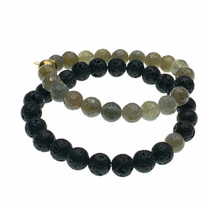 You and I Labradorite bracelet
