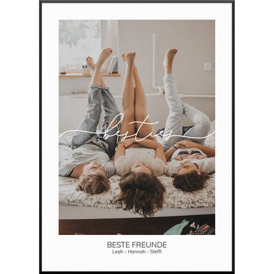 myfamposter fotoposter best friends