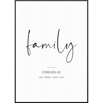 myfamposter family poster familienposter