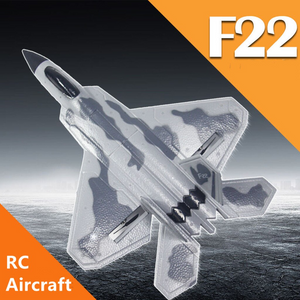 RC Plane F22 Raptor - Remote Controlled Aircraft