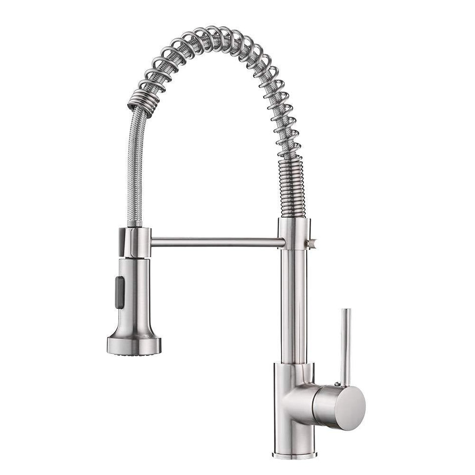 Best Spring Style Pull Down Kitchen Faucet with Rocker Switch