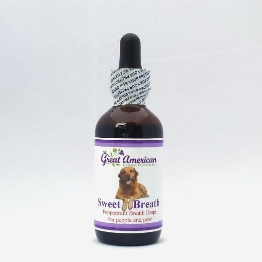 All Natural Chlorophyll Breath Drops for Pets - and People!