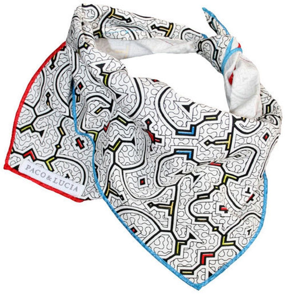 "Shipibo ""Selva"" Design Bandana for Pets & People"