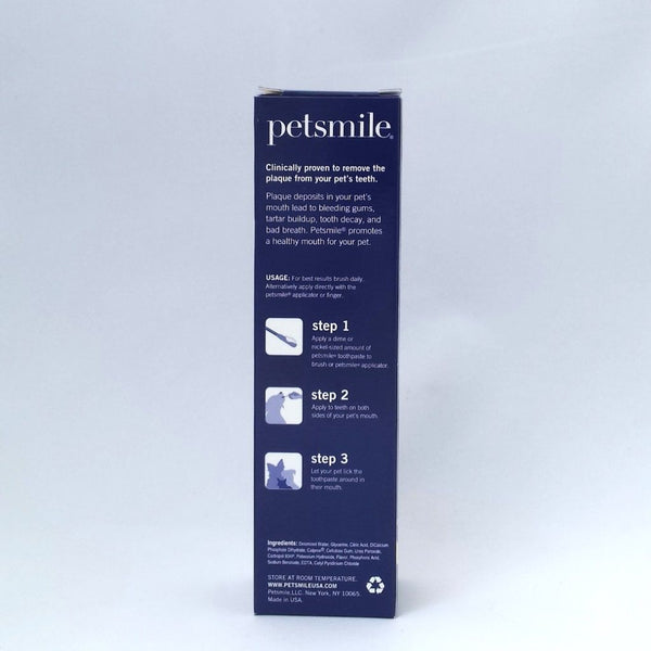 Petsmile easy plaque / tartar prevention for pets - just wipe on!