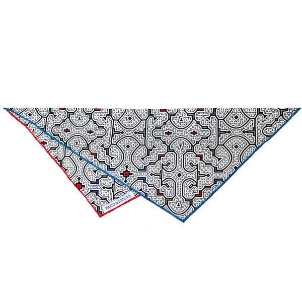 "Shipibo ""Selva"" Geometric Design Bandana - for Cats, Dogs & People"