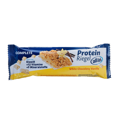 all in® COMPLETE Protein Riegel White Chocolate Vanilla (25 x 40g)