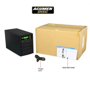 Acumen Disc 1 to 10 CrossOver Media & DVD Duplicator - Bi-Directional Multimedia Flash Memory Back-Up (CF SD MS USB) & Multiple Discs Copier