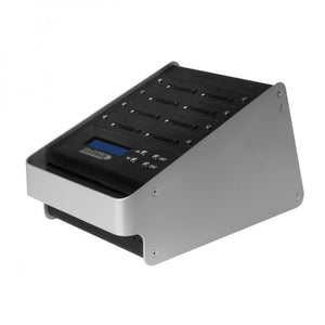 1 to 7 FlashMax CF Duplicator - Standalone CompactFlash Compact Flash Memory Card Storage Copier