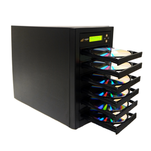 Acumen Disc 1 to 5 DVD CD Duplicator - Multiple Discs Copier Recorder System (Standalone Burner Drives Tower)