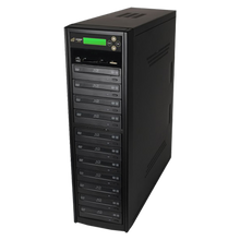 Load image into Gallery viewer, Acumen Disc 1 to 10 Blu-Ray Multimedia Backup Duplicator - Flash Media (CF / SD / USB / MMS) to Multiple Discs (BD/DVD) Copier Tower System