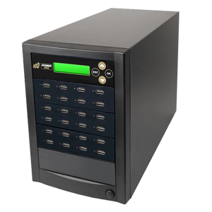 Acumen Disc 1 to 23 Target Multiple USB Drive Duplicator Flash Memory Copier / SSD / External Hard Drive Clone (Up to 35mbps) & Sanitizer (DoD Compliant)