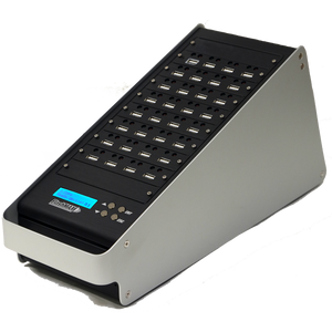1 to 31 FlashMax USB Duplicator - Standalone Flash Memory Mass Storage Class Copier & DoD Compliant Eraser