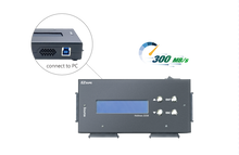 Load image into Gallery viewer, Forensic 1 to 3 SATA II Hard Drive Duplicator - Multiple HDD Cloner (up to 300MB/s) & SSD Copier with DoD Compliant Data Eraser