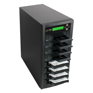 Acumen Disc 1 to 7 SATA II Hard Drive Duplicator (up to 300MB/s) - Multiple HDD & SSD Memory Card Copier & HDD Sanitizer (DoD Compliant)