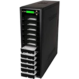 "Acumen Disc 1 to 11 SATA III Hard Drive Duplicator (up to 600MB/s) - Multiple 3.5"" & 2.5"" HDD & SSD Memory Card Copier & Sanitizer (DoD Compliant)"