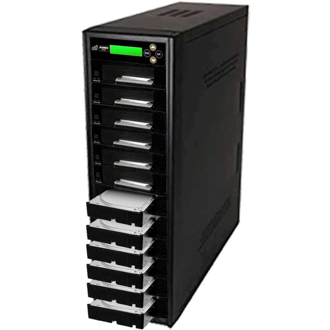 Acumen Disc 1 to 11 SATA III Hard Drive Duplicator (up to 600MB/s) - Multiple 3.5