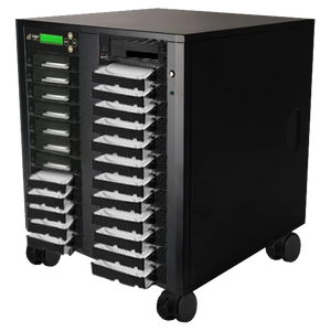 Acumen Disc 1 to 24 SATA Hard Drive Duplicator (up to 150MB/s) - Multiple HDD & SSD Memory Card Copier & HDD Sanitizer (DoD Compliant)