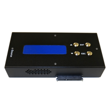 Load image into Gallery viewer, 1 to 3 Compact Mini Multiple SATA II Hard Drive Duplicator HDD Cloner (up to 300MB/s) & SSD Card Copier