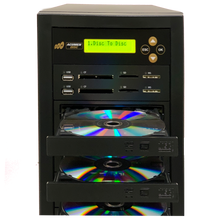 Load image into Gallery viewer, Acumen Disc 1 to 1 CrossOver Media & DVD Duplicator - Bi-Directional Multimedia Flash Memory Back-Up (CF SD MS USB) & CD DVD Disc Copier