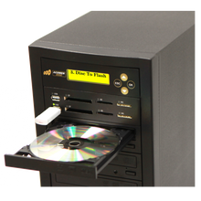 Load image into Gallery viewer, Acumen Disc 1 to 2 CrossOver Media & DVD Duplicator - Bi-Directional Multimedia Flash Memory Back-Up (CF SD MS USB) & Multiple Discs Copier