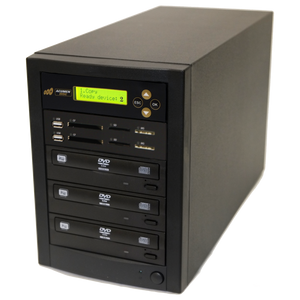 Acumen Disc 1 to 2 CrossOver Media & DVD Duplicator - Bi-Directional Multimedia Flash Memory Back-Up (CF SD MS USB) & Multiple Discs Copier