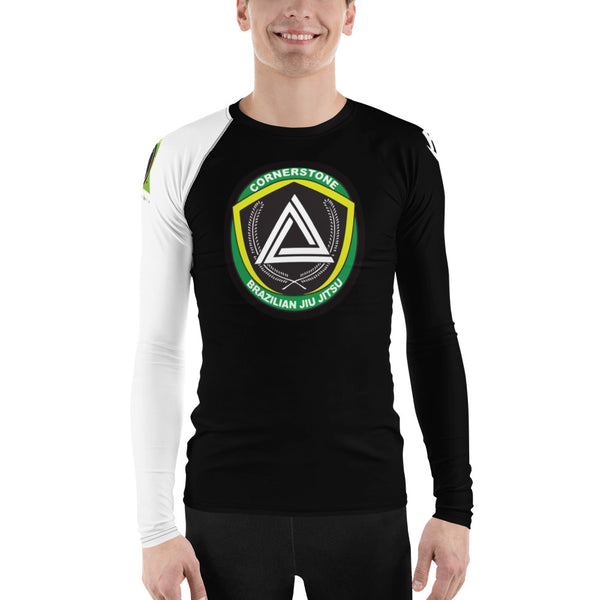 Men's Rash Guard White Ranked