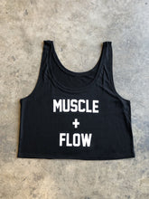 Load image into Gallery viewer, Muscle + Flow - Flowy Cropped Tank