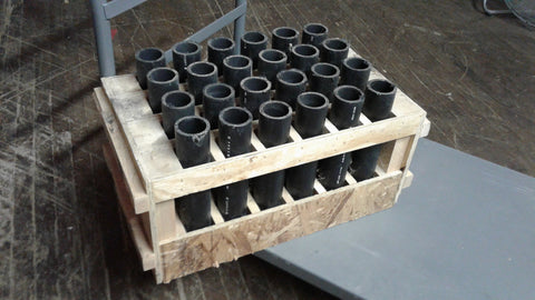 24 shot mortar rack