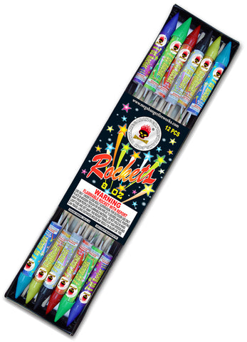 8oz rockets 12 pack