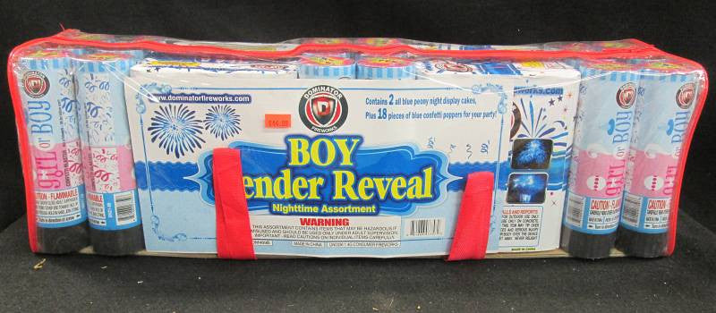 Gender Reveal - Night - Boy