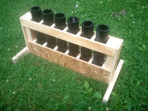 6 shot mortar rack