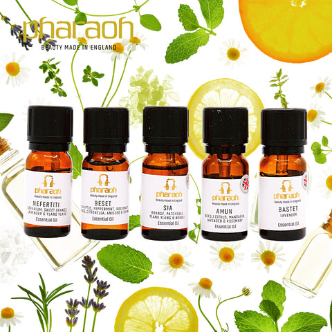SPA Essential Oil Collection | Pharaoh London Cosmetics - discover beauty made in England