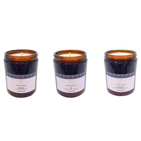 Organic SPA Essentials Soy Wax Candle Collection