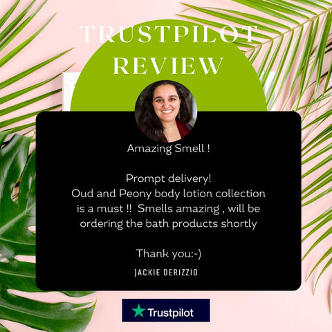 TRUSTPILOT REVIEW -Discovery Bath & Body Hamper EXCLUSIVE | Pharaoh London Cosmetics UK - discover beauty made in England