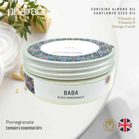 Donate Complete Shea COCOA Butter Body Cream Pack 800g - Pharaoh London Cosmetics UK Ltd