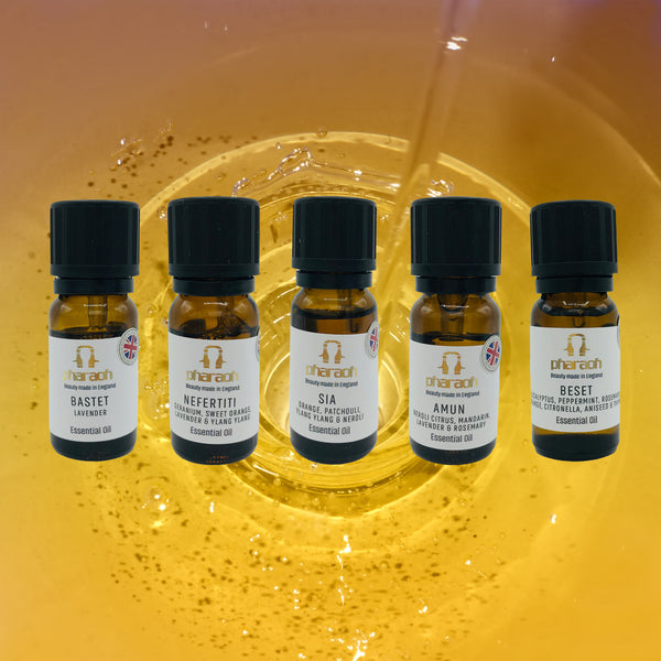 Pharaoh's Essential Oil Collection | beauty made in England