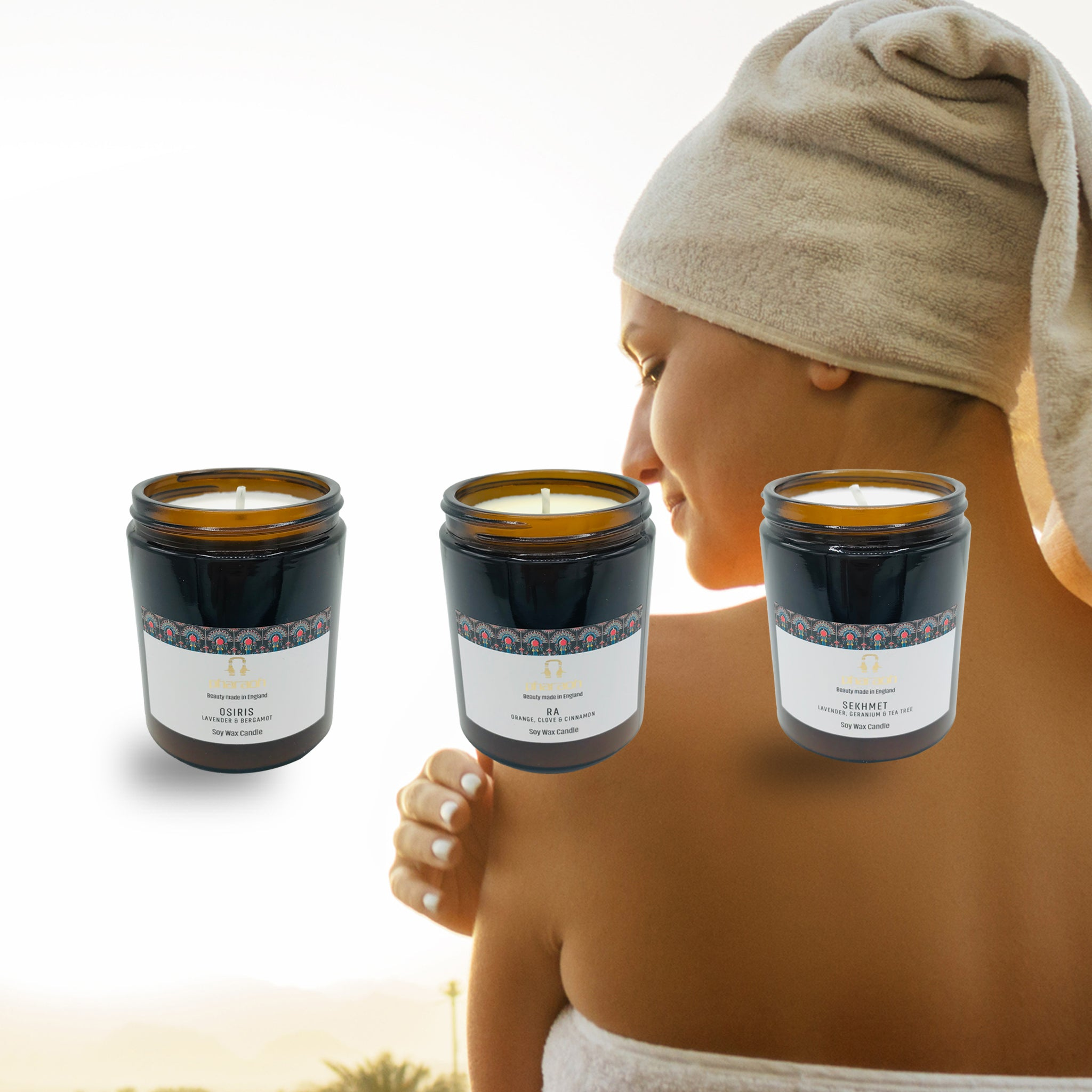SPA Essentials Soy Wax Candles