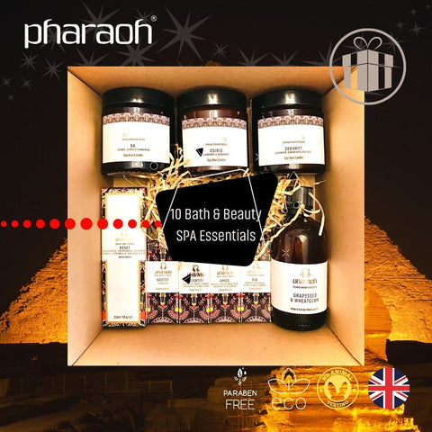 SPA Essentials Complete Collection Gift Box - Pharaoh London Cosmetics UK Ltd