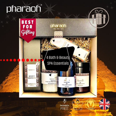 SPA Essentials Winter Gift Pack SAVE £19 - Pharaoh London Cosmetics UK Ltd