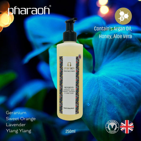 Complete Luxury Bath & Body Gift Box - Pharaoh London Cosmetics UK Ltd