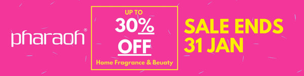 SALE | SAVE UPTO 30% OFF Home Fragrance & Beauty | discover beauty made in England - Pharaoh London Cosmetics UK