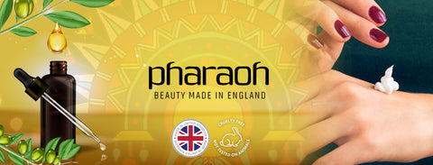 Pharaoh London Cosmetics UK | beauty made in England